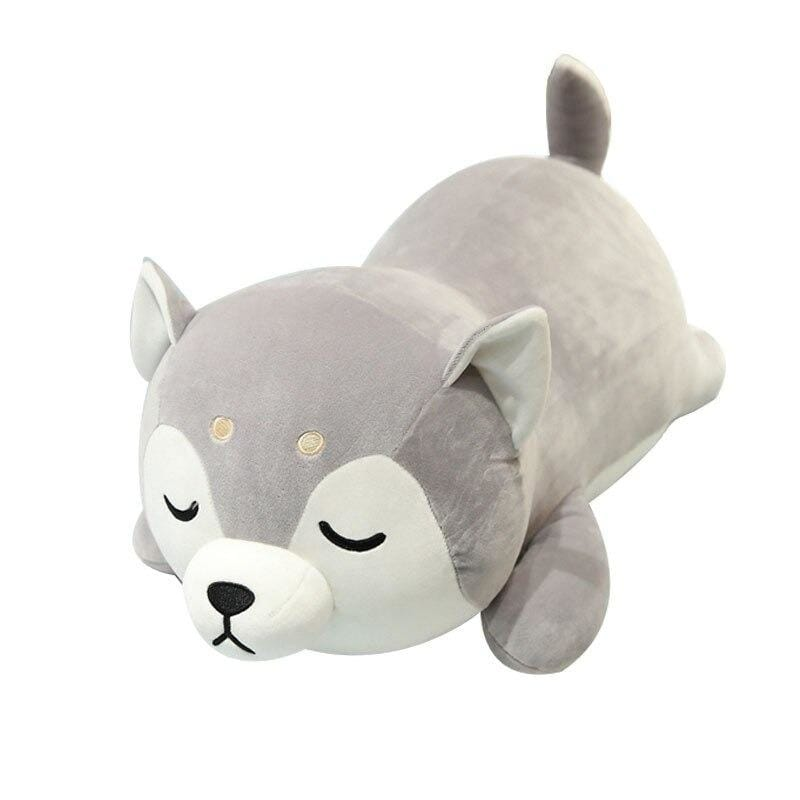 Kawaii wolf plush