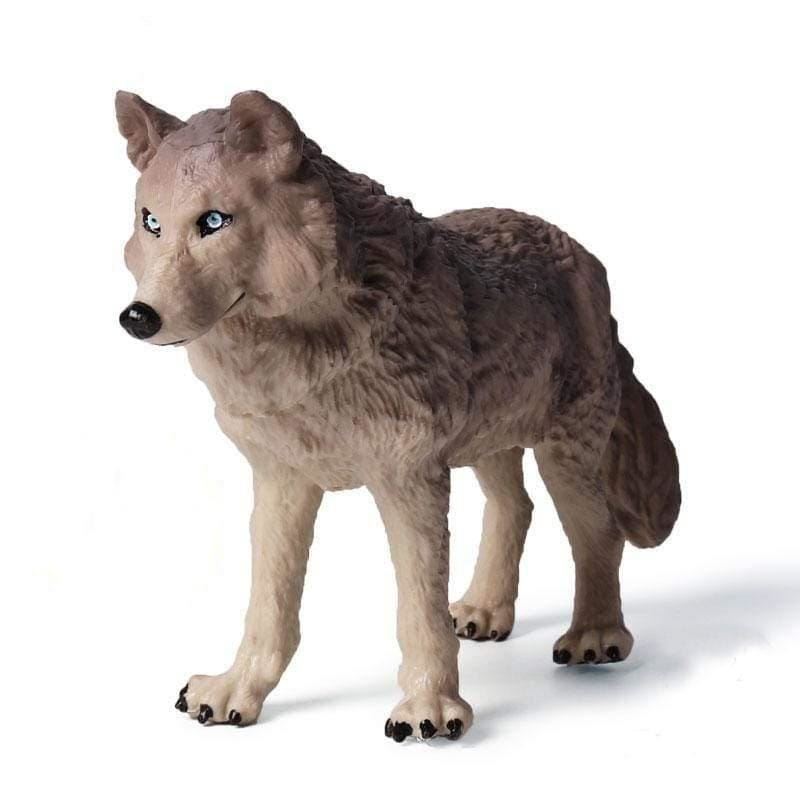 Large Wolf Toy