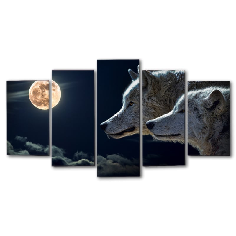 Moon Canvas Wall Art