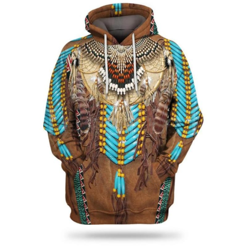 Native American Fleece Hoodie