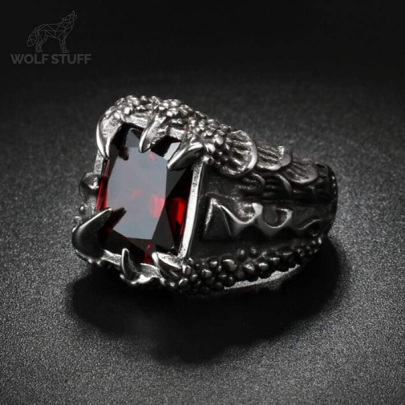 Red Claw Ring