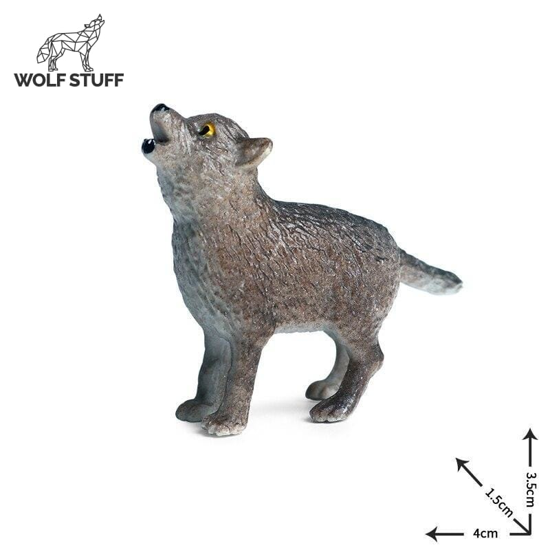 Small Plastic Wolf Toys