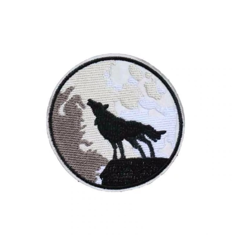 Small wolf patch