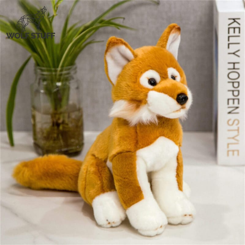 Stuffed Wolf Plush