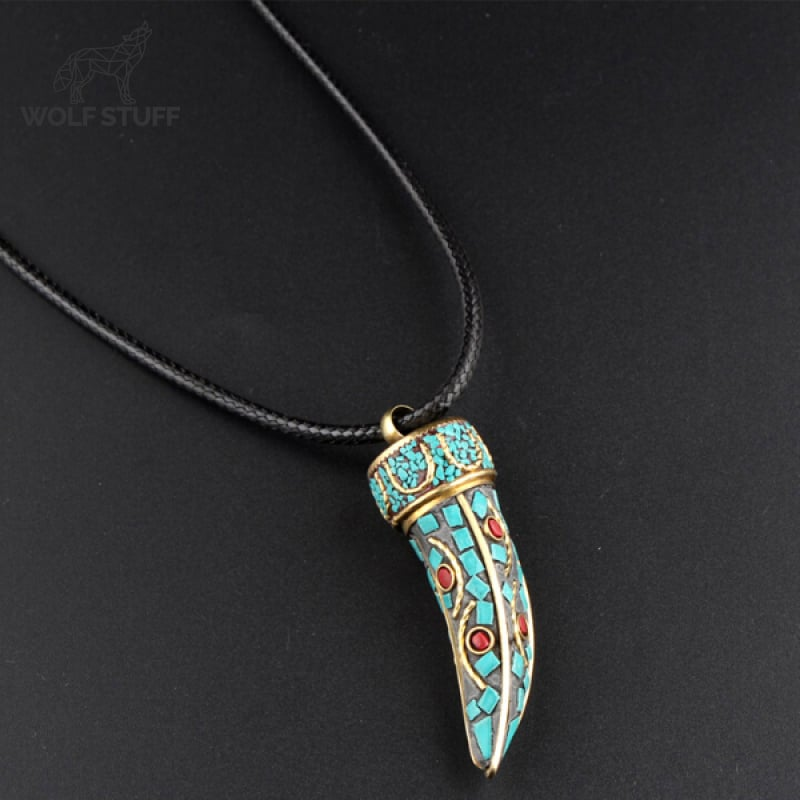Tribal Wolf Tooth Necklace