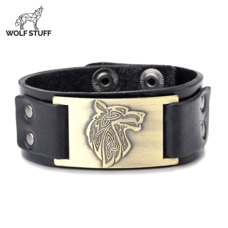 Viking leather wristbands