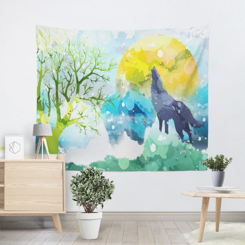 Watercolor Tapestry