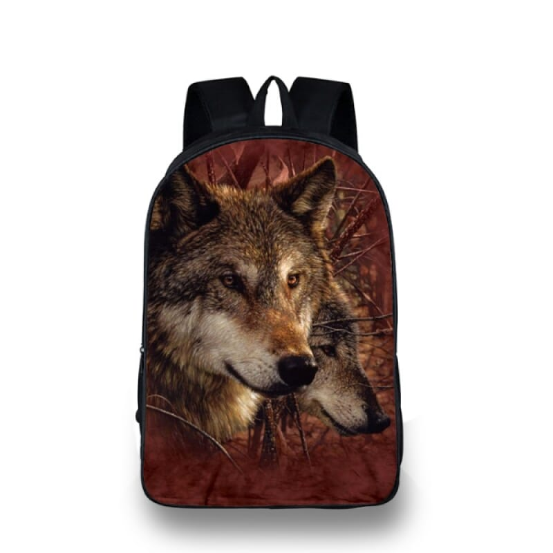Wolf Backpacks for School