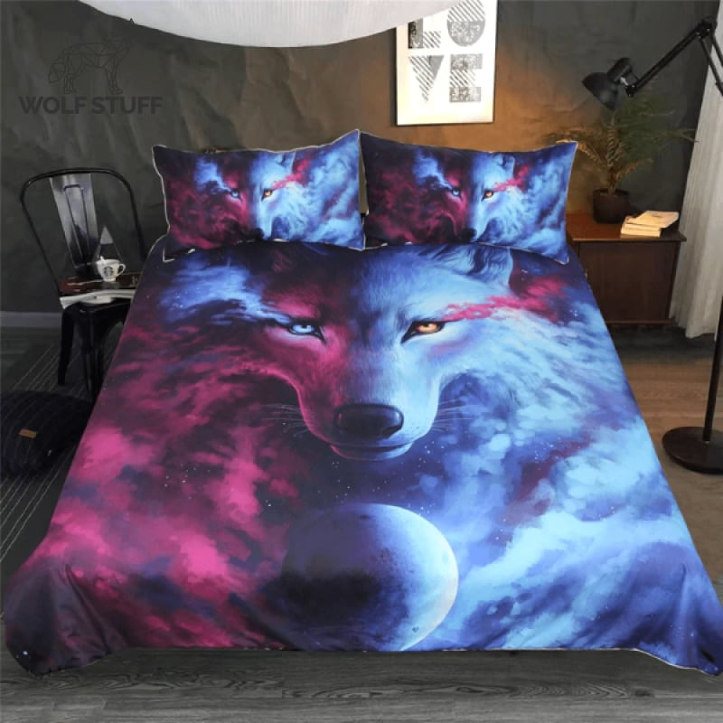 Wolf Bed Comforter Sets