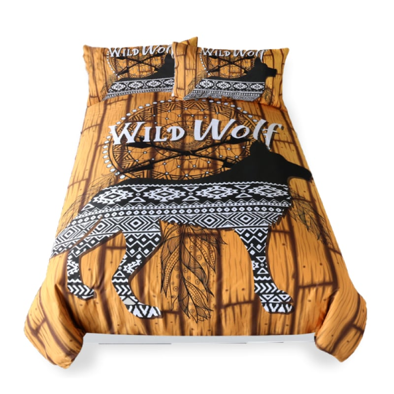 Wolf Bedding Twin