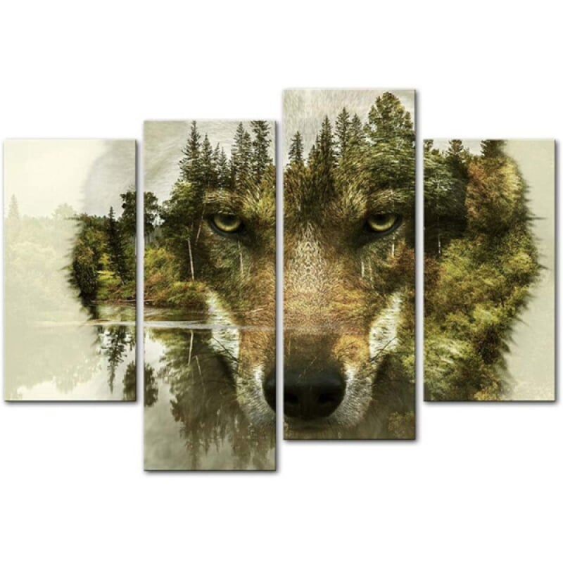 Wolf Canvas Art