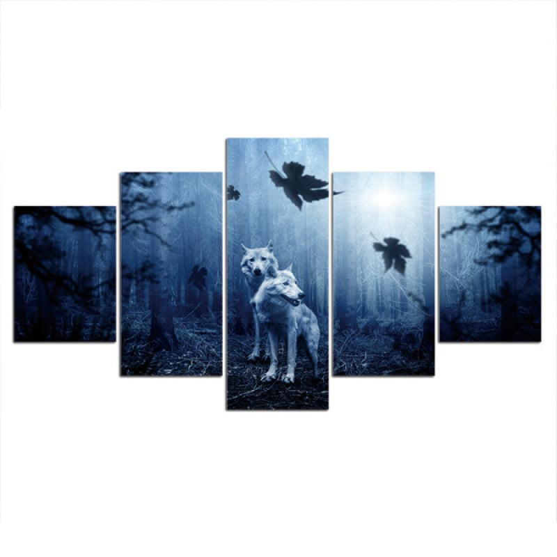 Wolf Canvas Pictures