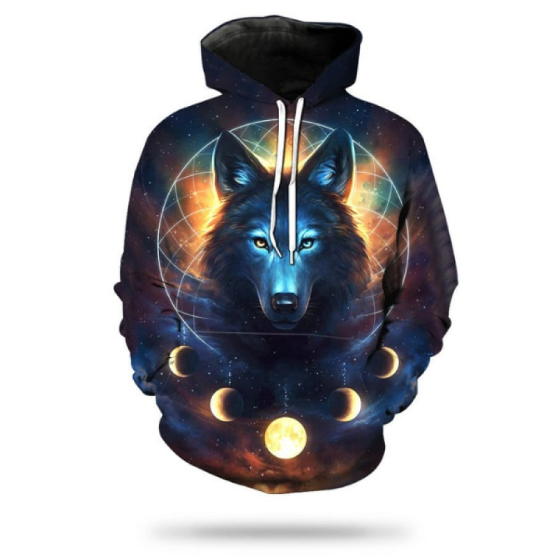 Wolf Dream Catcher Hoodie