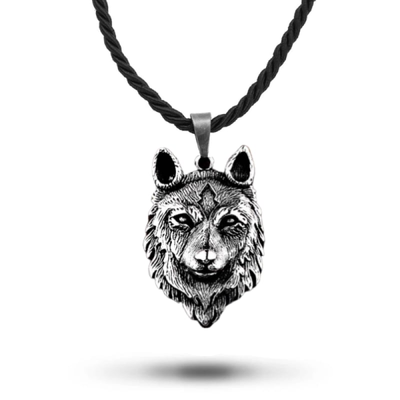 Wolf Face Pendant