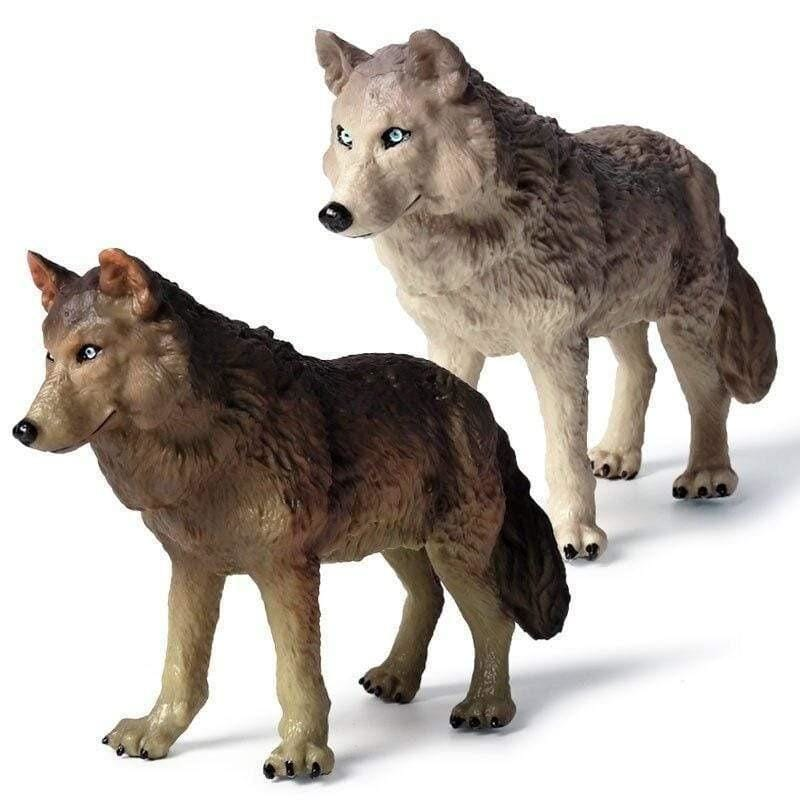 Wolf Family Toys