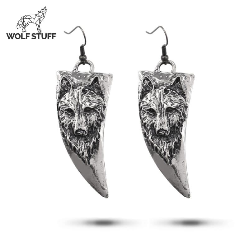 Wolf Fang Earrings