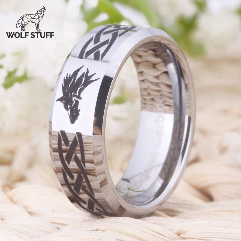 Wolf Head Ring For Sale