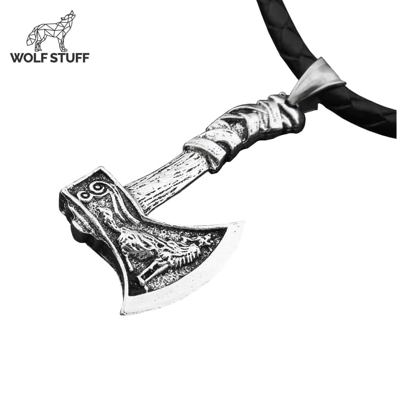 Wolf Necklace for Guys