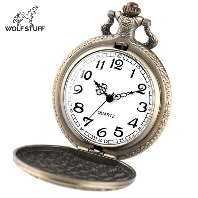 Wolf Pack Pocket Watch