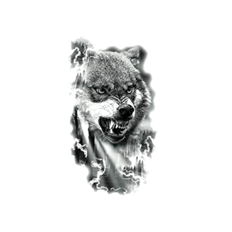 Wolf Pack Temporary Tattoo