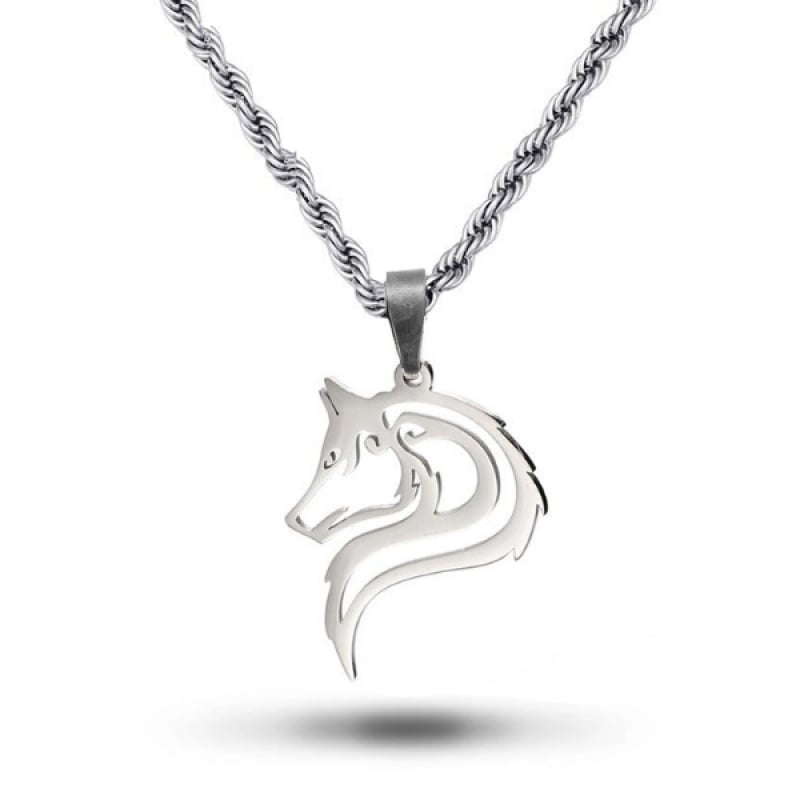 Wolf Spirit Necklace