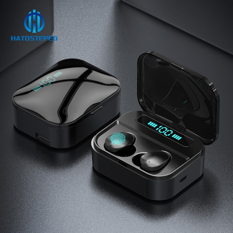 Wireless Earbuds with 3600mAh Power Bank