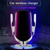 Car Wireless Charger & Phone Holder
