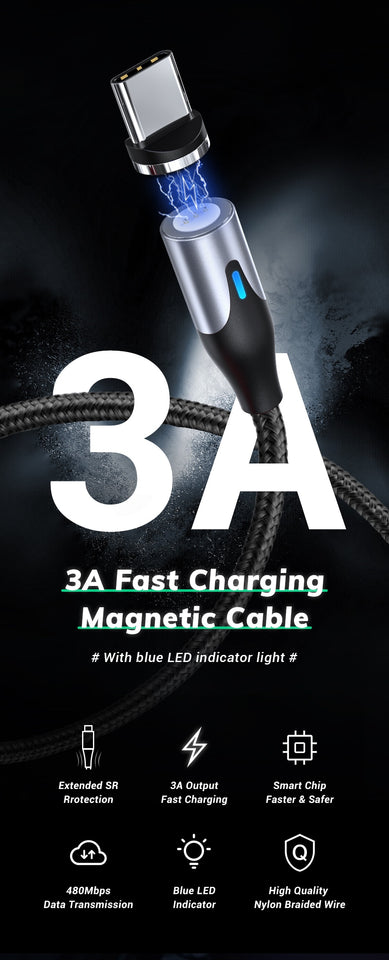 Magnetic Cable Fast Charging