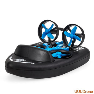 3-in-1 Flying  Drone, Boat, Land Driving Mode