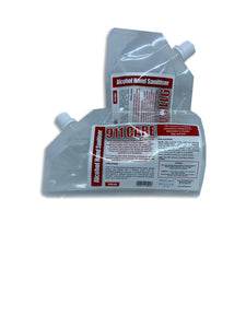 911 Care Hand Sanitiser Refill Pouch (200ml) - Nucare Health Shop