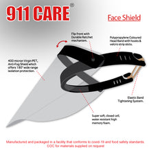 Load image into Gallery viewer, 911 Care Face Shield