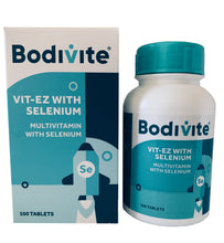 Load image into Gallery viewer, Bodivite Vit-EZ with Selenium 100 Tablets