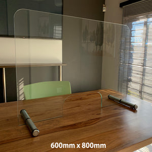 Counter-Top Glass Divider