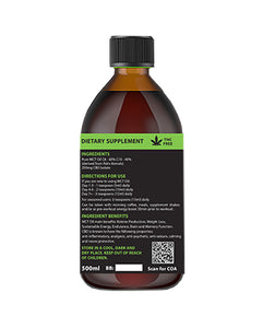 NuCare Keto Oil + CBD 250mg - 500ml