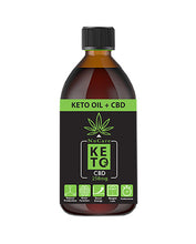 Load image into Gallery viewer, NuCare Keto Oil + CBD 250mg - 500ml