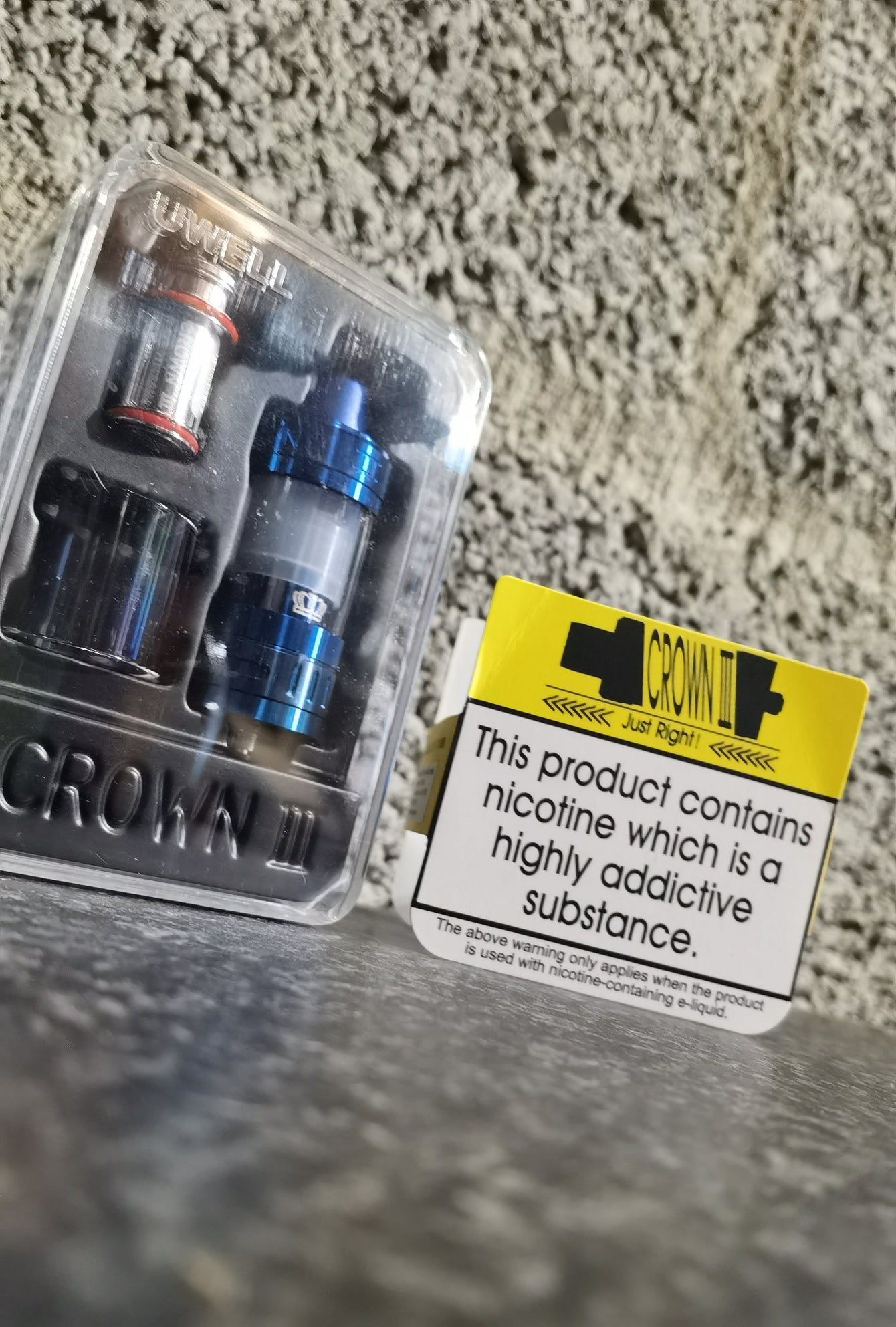 Uwell Crown 3 Sub ohm tank - The Vape Vape Show