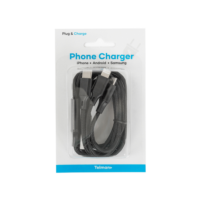 3 in 1 Charging Cable (20/box)