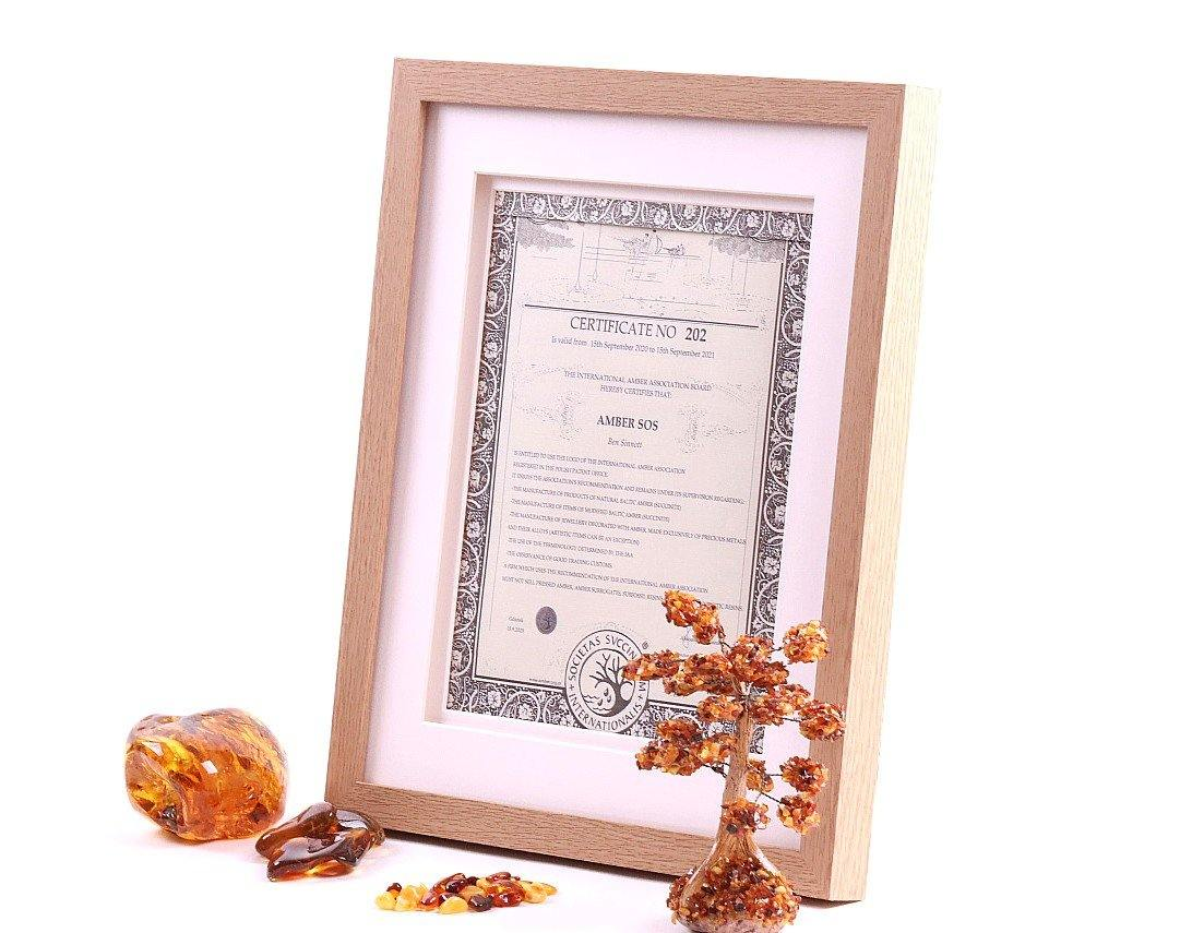 International Amber Association Certification - Amber SOS