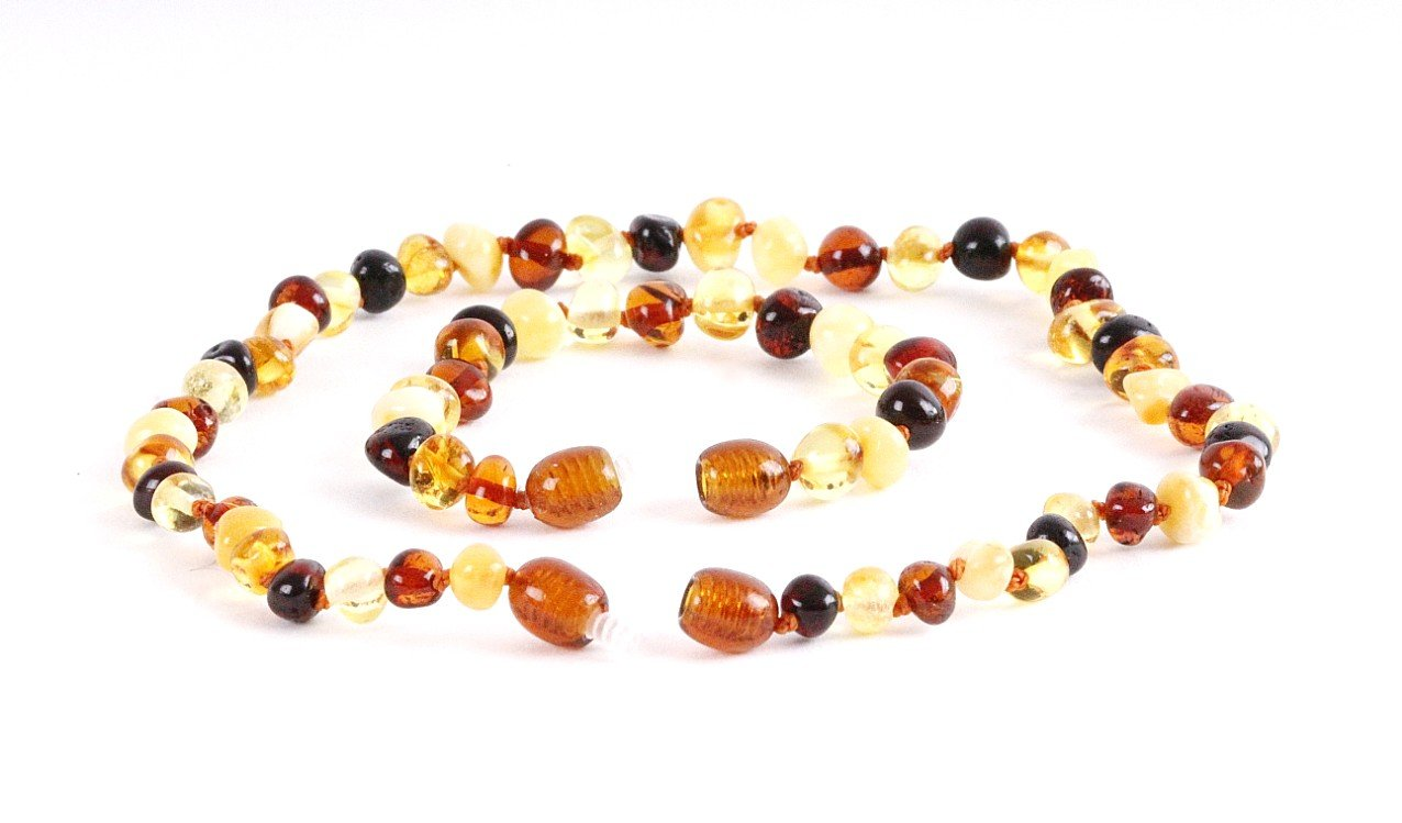 Healing Beads for Children Mix Round - Amber SOS