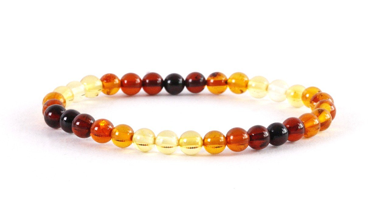 Colours of Amber Bracelet