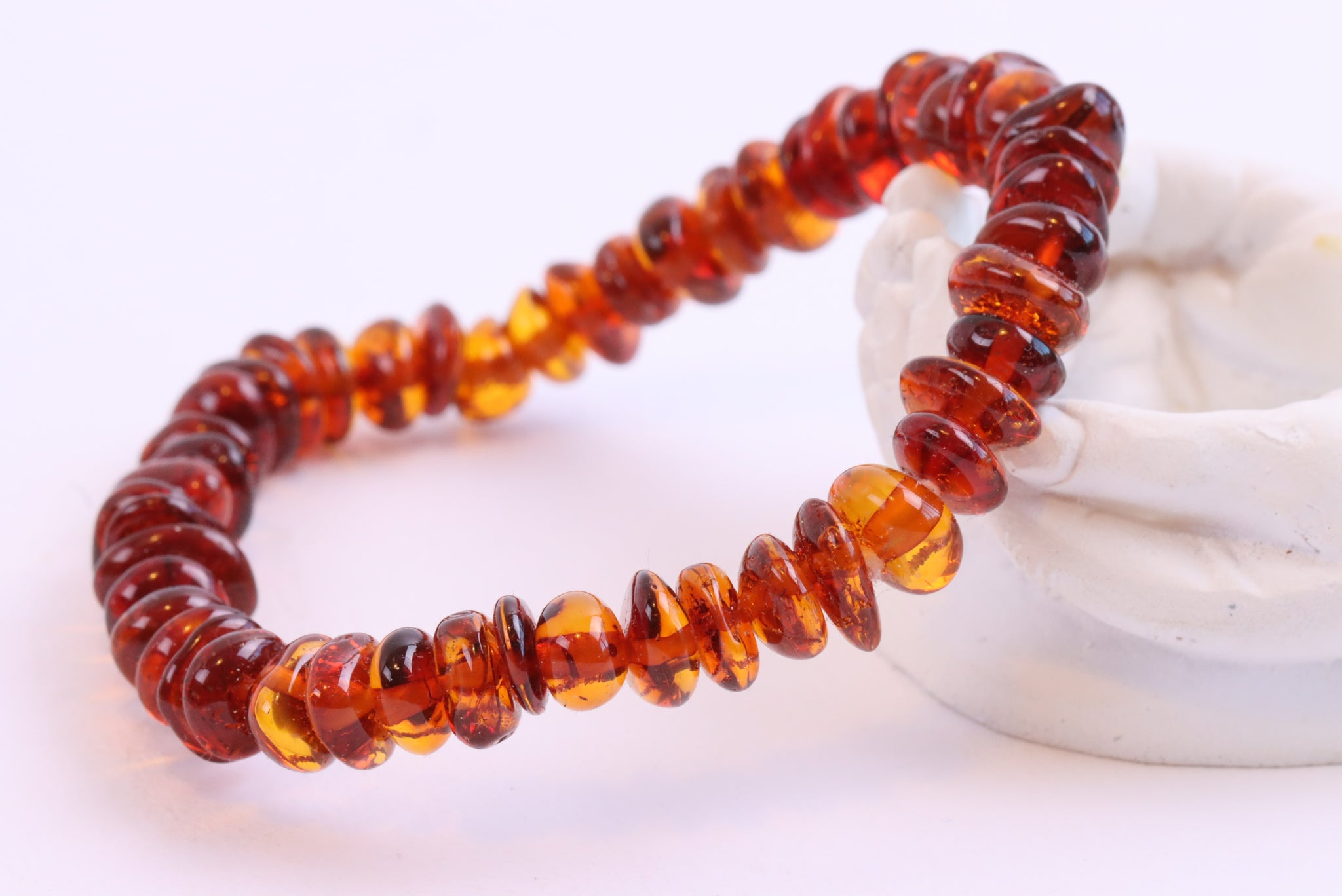 Honey Amber Adult Bracelet