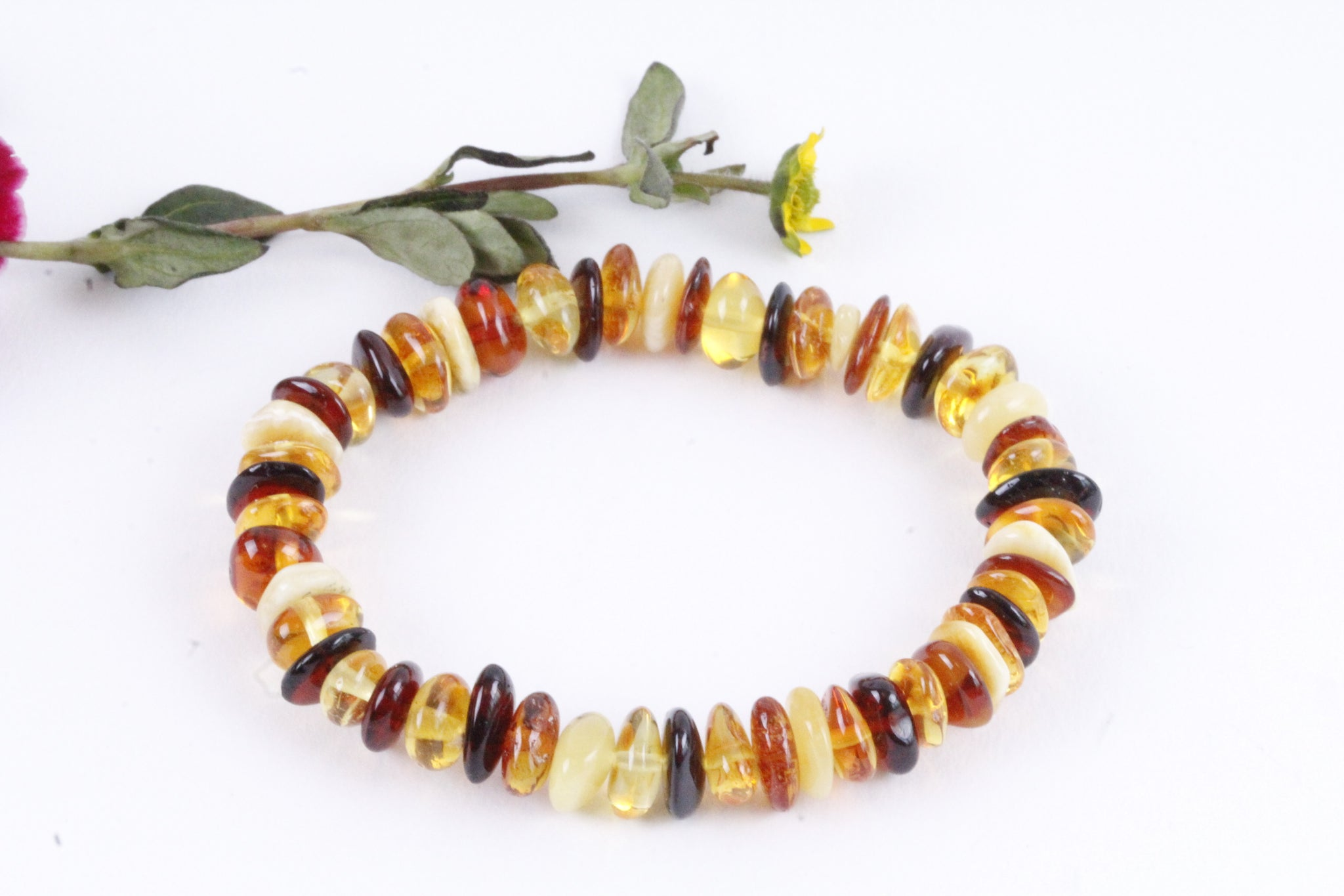 Baltic Amber Mixed Bracelet