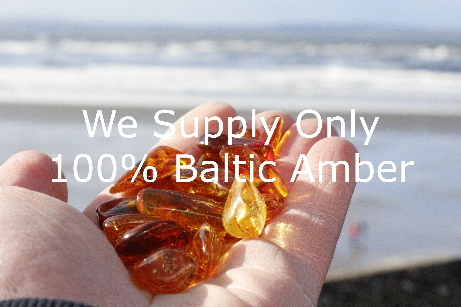Baroque Natural Polished Amber Crafters Beads - Amber SOS