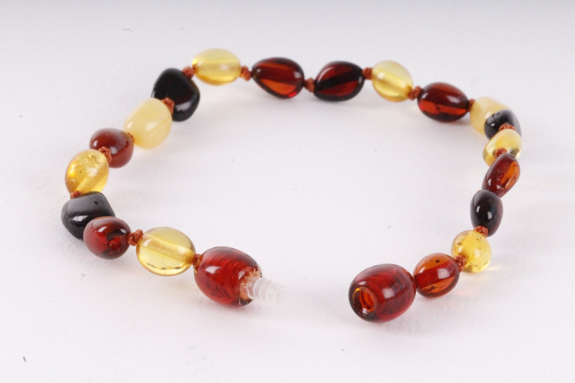 Amber Anklet Mixed Bean