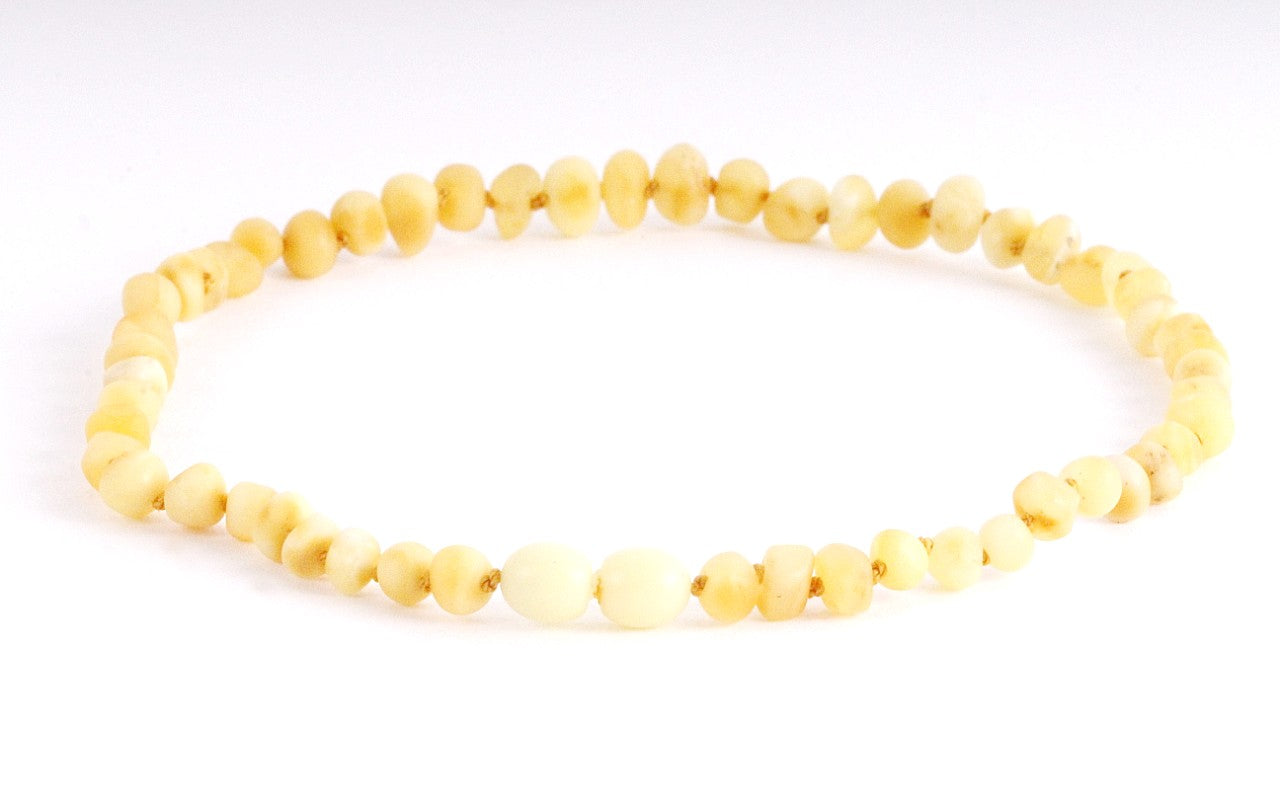 Raw Amber Necklace for Children