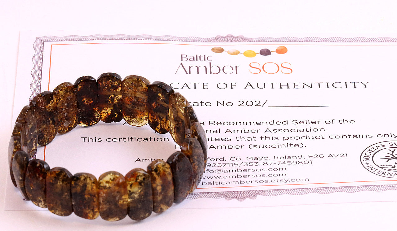 Bracelet with a Certificate