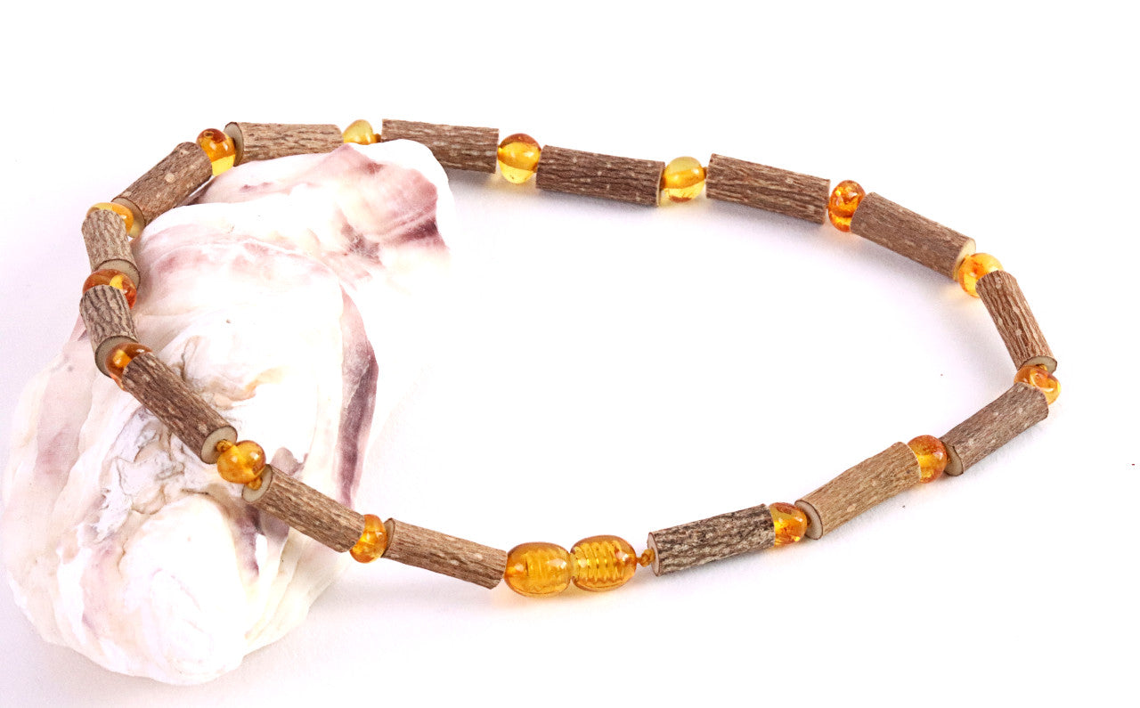 Amber Amulet for Luck