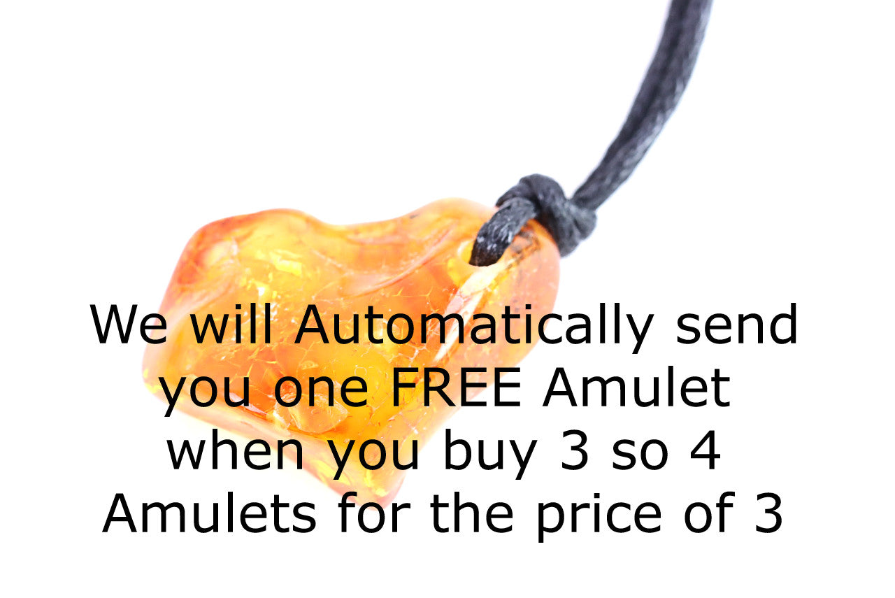 Amber Amulet Gift for Wellness Special offer.
