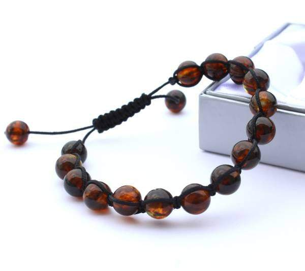 Adjustable Cord Bracelet - Amber SOS