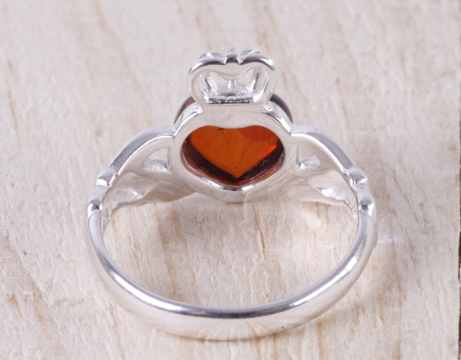 Claddagh Ring Amber SOS